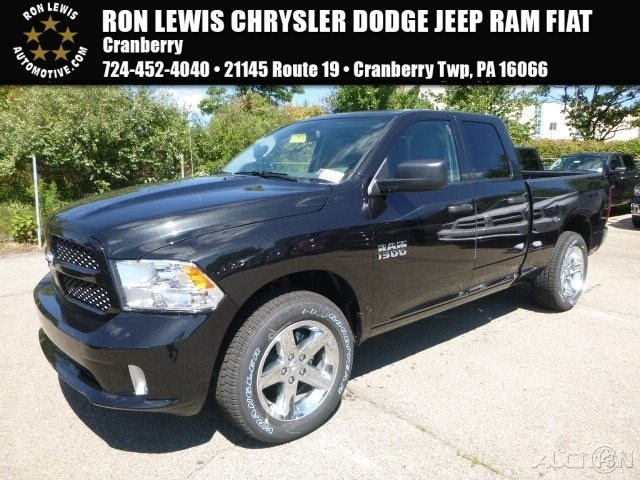 new 2017 ram 1500 tradesman express quad in cranberry township d7156 ron lewis automotive group. Black Bedroom Furniture Sets. Home Design Ideas