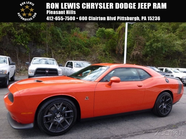 Ron Lewis Kia U003eu003e New 2016 Dodge Challenger R/T Scat Pack COUPE In